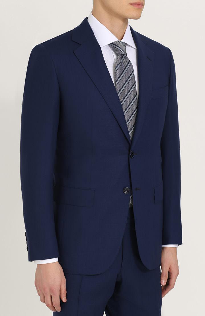 Прокат костюма синий Napoli