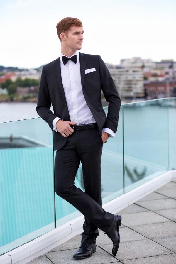 Черный костюм Bazioni Legend