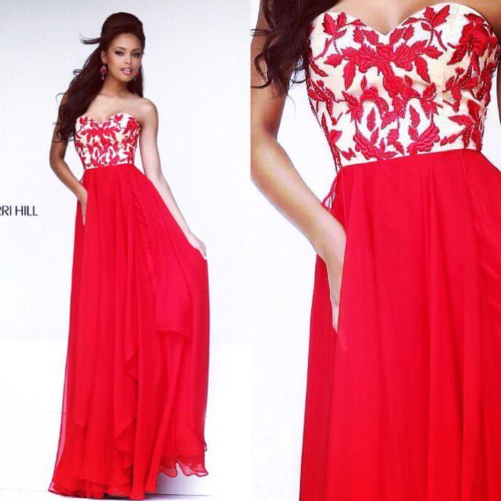 Платье от SherriHill (США)  Red River