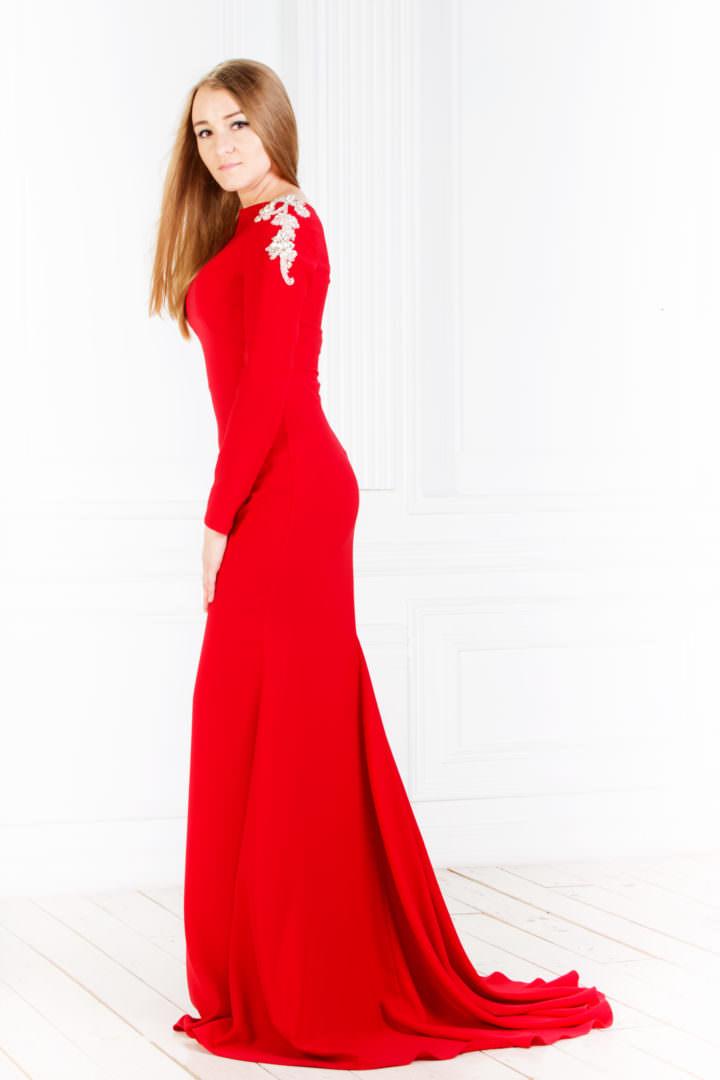 Платье от Jovani (США) Red  Light