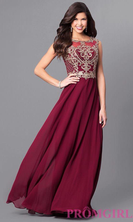 Платье от Jovani (США) Burgundy
