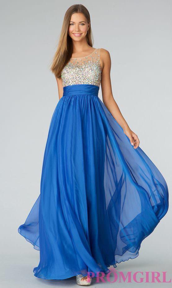 Платье от Jovani (США) Blue Wave