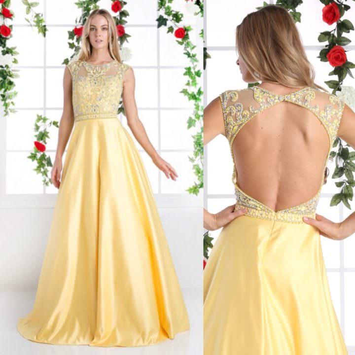 Платье от Jovani Yellow Coast