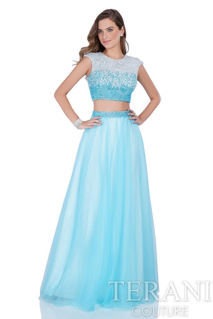 Платье от TeraniCouture (США) Blue Cloud