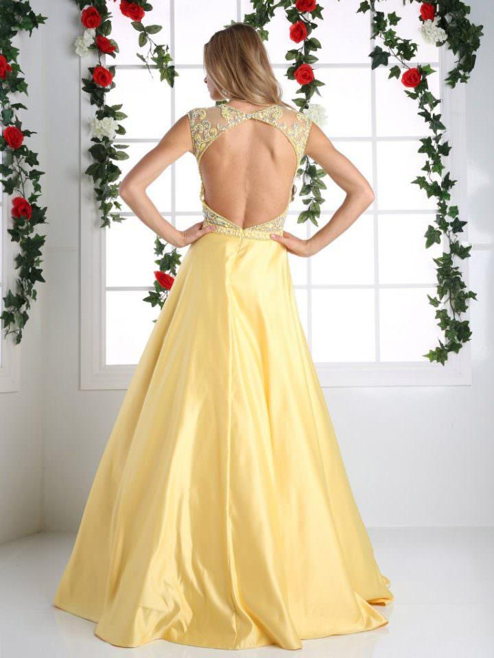 Cinderella Divine (США) Yellow lemon