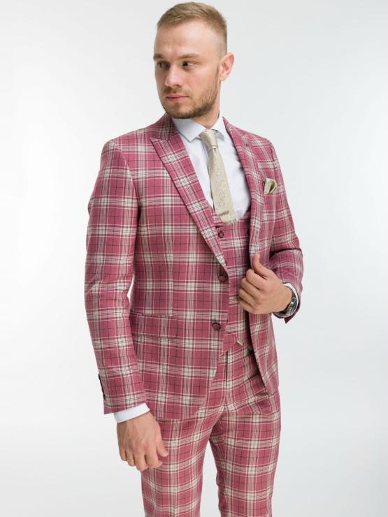 Свадебный костюм - тройка BRUSNIKA