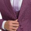 Сиреневый костюм-тройка